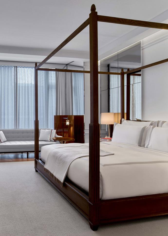 Baccarat Hotel New York Guestroom