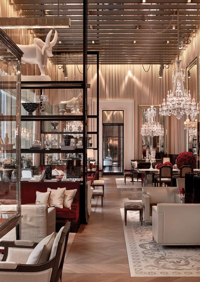The Grand Salon at Baccarat Hotel