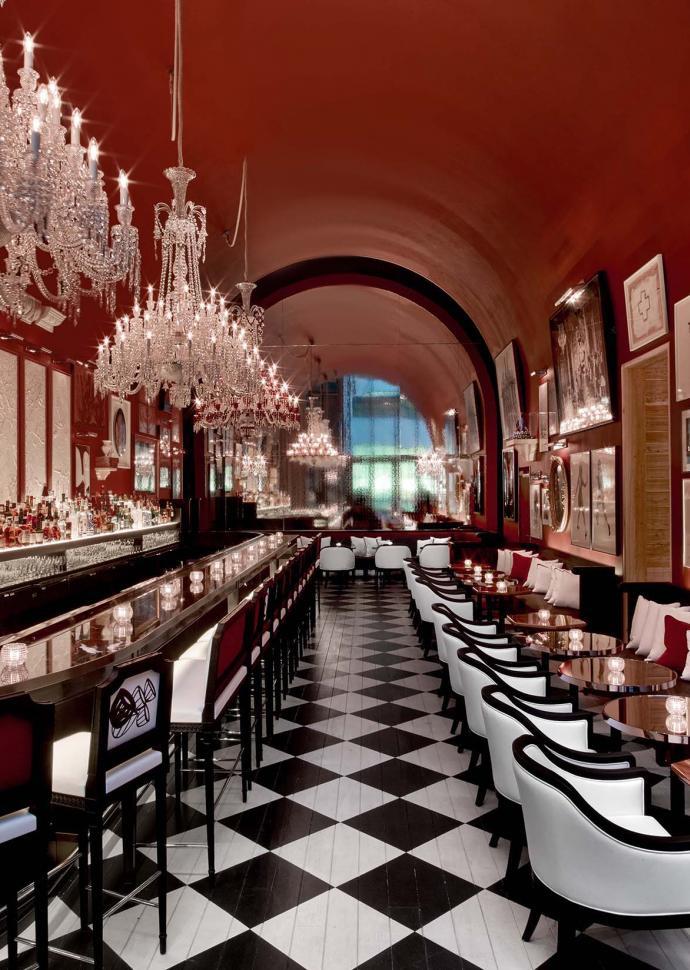 The Bar at Baccarat Hotel New York