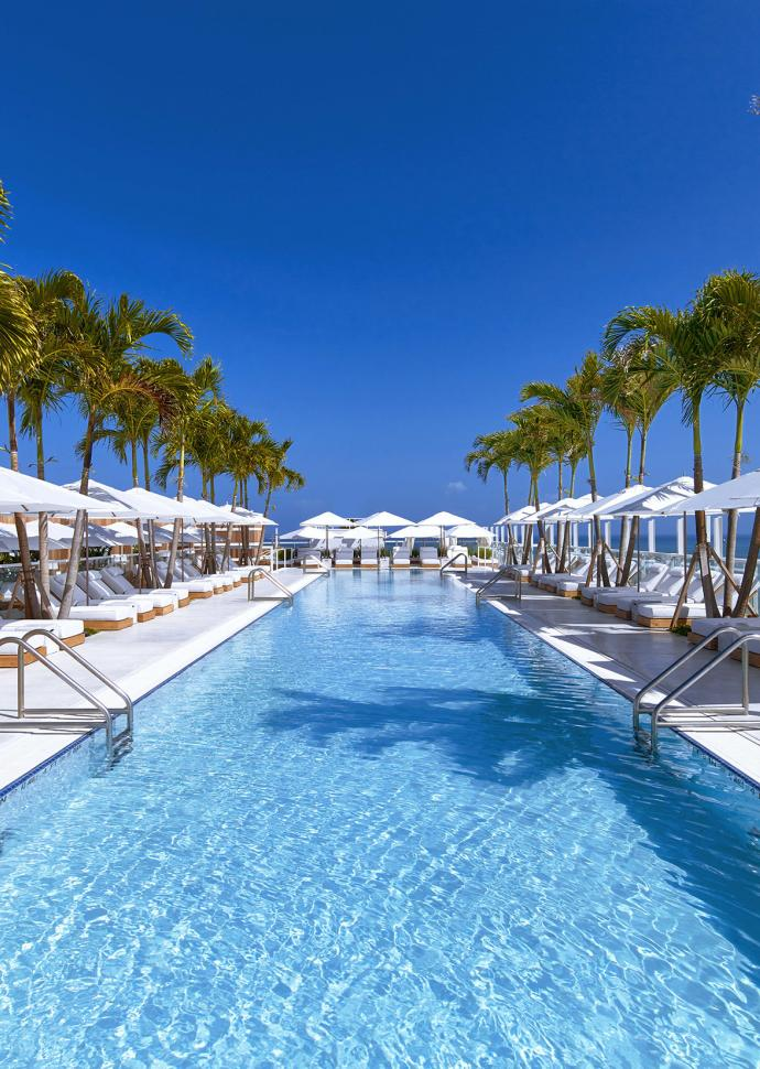 Watr Rooftop Pool 1 Hotel South Beach
