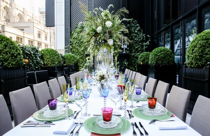 Event at Baccarat Hotel New York