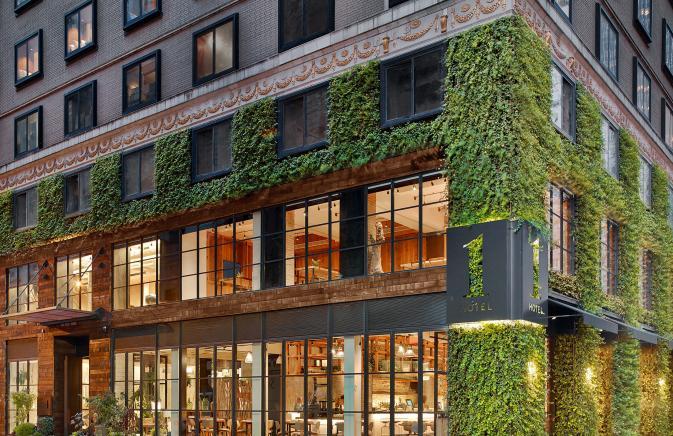 1 Hotel Central Park facade