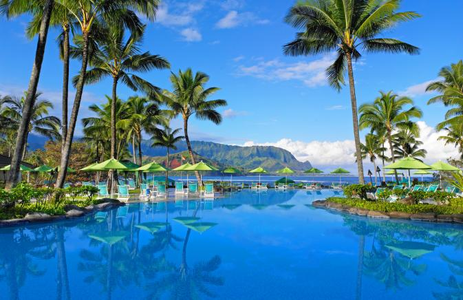 Pool at Princeville Resort Kauai