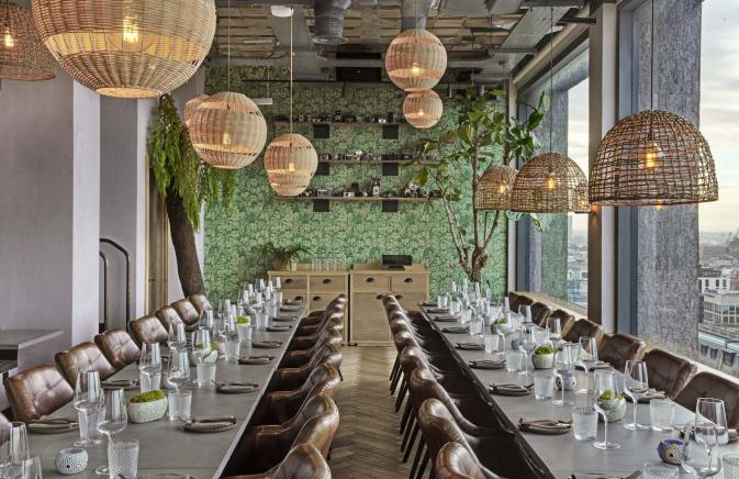 Madera at Treehouse London Private Dining