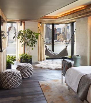 Room at 1 Hotel Brooklyn Bridge