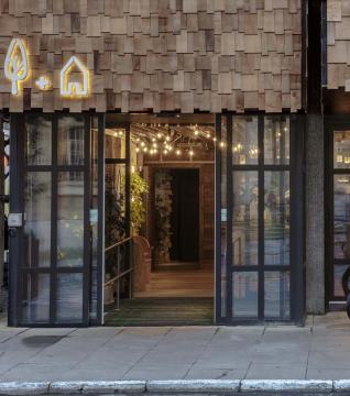 Treehouse Hotel London Exterior