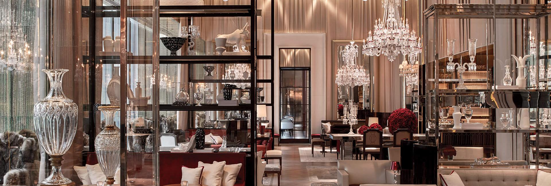 The Grand Salon at Baccarat Hotel