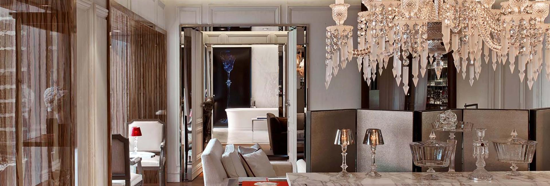 The Baccarat Suite at Baccarat Hotel New York