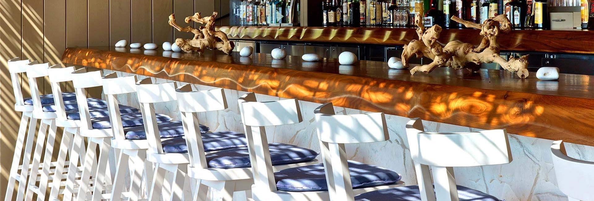 bar at sandbox restaurant