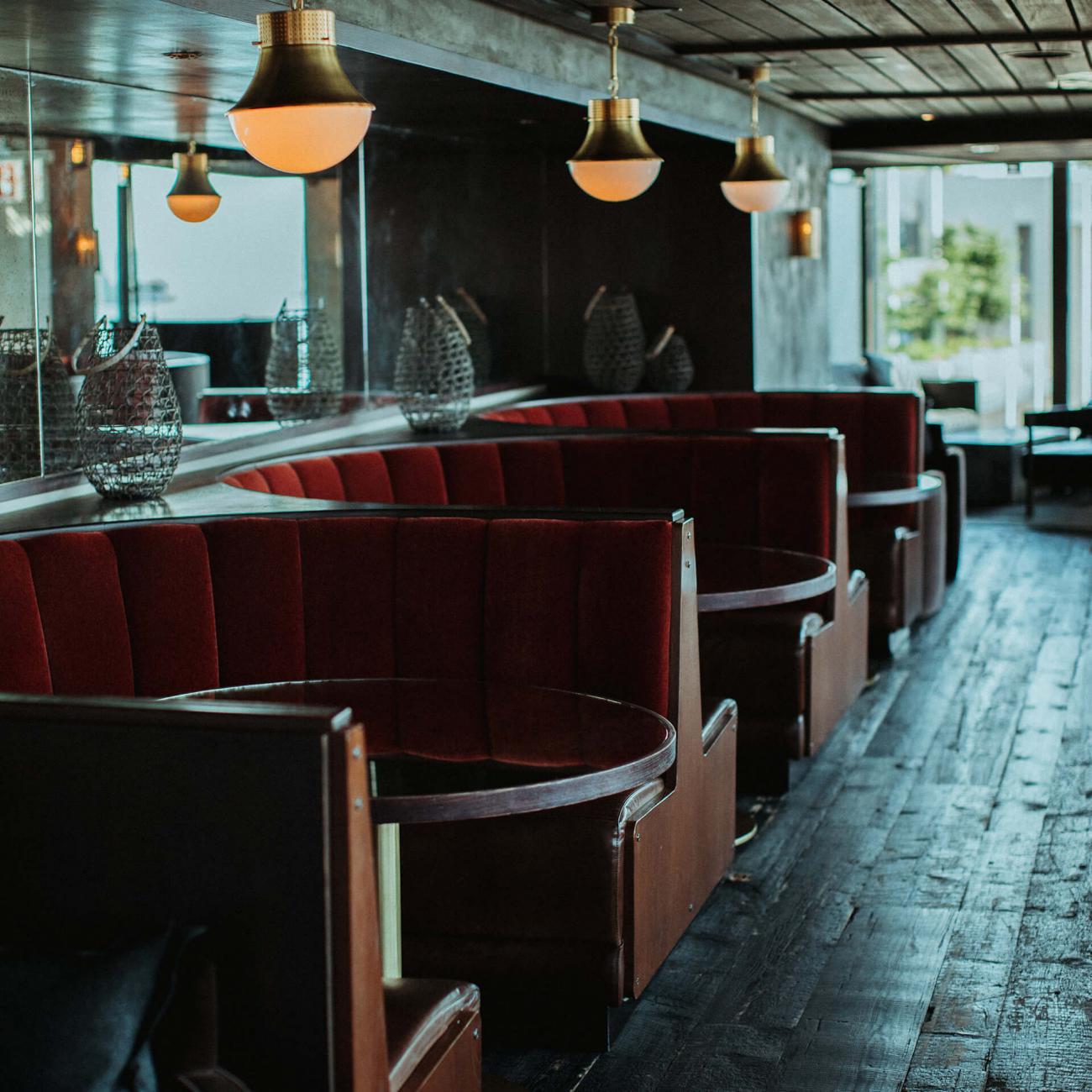 booth at brooklyn heights social club