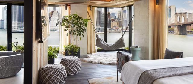 Room at 1 Hotel Brooklyn Bridge